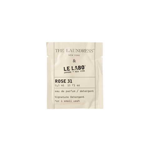 THE LAUNDRESS & LE LABO SIGNATURE DETERGENT - ROSE 31 SACHET