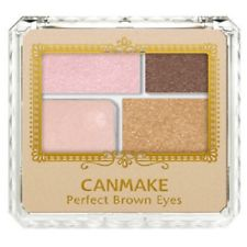 CANMAKE PERFECT BROWN EYES 4 COLORS EYESHADOW 04 SWEET BROWN 3.6g