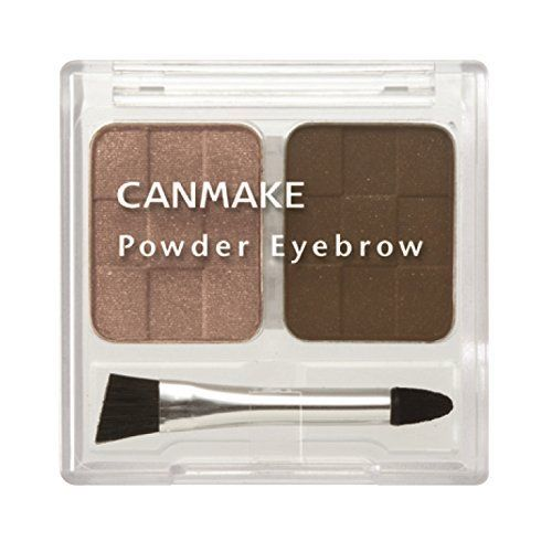 CANMAKE POWDER EYEBROW 2 COLORS 12 LIGHT 5g
