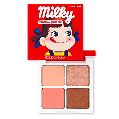 HOLIKA HOLIKA EYE SHADOW PALETTE 01 STRAWBERRY CARAMEL SWEET PEKO EDITION 6g
