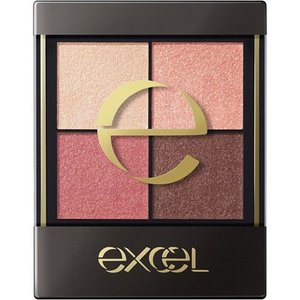 EXCEL REAL CLOSED EYESHADOW CS02 PINK MOHAIR