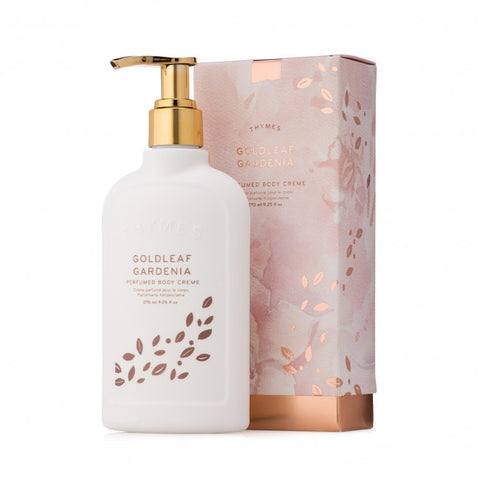 THYMES GOLDLEAF GARDENIA BODY CRÈME 270ml