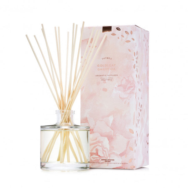 THYMES GOLDLEAF GARDENIA DIFFUSER 230ml