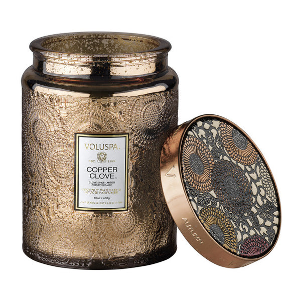 VOLUSPA COPPER CLOVE 100HR CANDLE