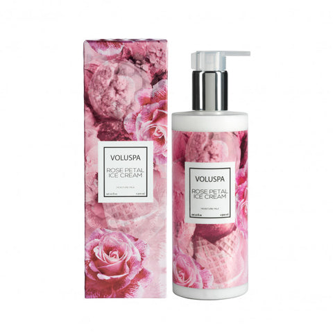 VOLUSPA ROSE PETAL ICE CREAM MOISTURE MILK 300ml