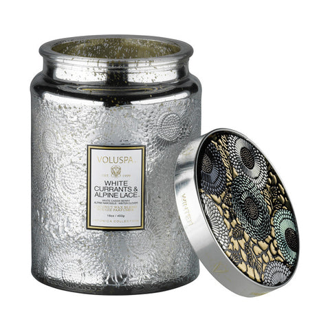 VOLUSPA WHITE CURRANTS & ALPINE LACE 100HR CANDLE