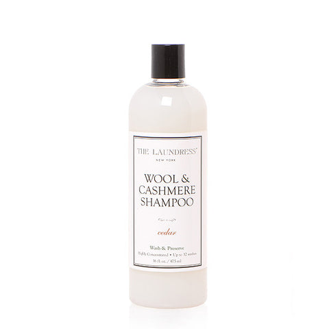 THE LAUNDRESS WOOL & CASHMERE SHAMPOO - CEDAR 475ml
