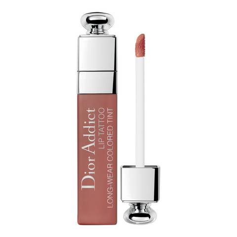 DIOR ADDICT LIP TATTOO LONG-WEAR COLORED TINT 421 NATURAL BEIGE 6ml