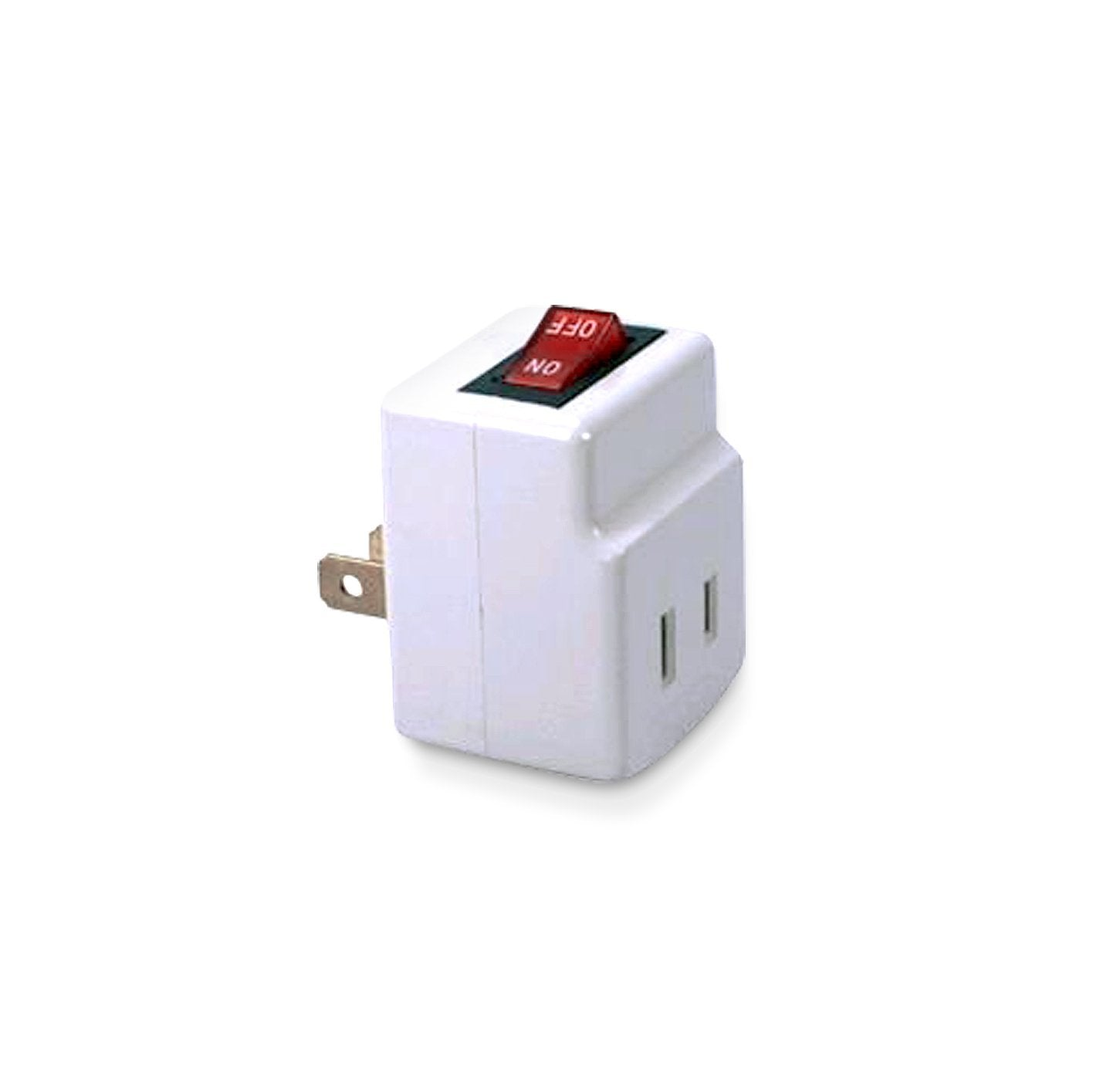 Single Port Power Adapter for outlet with On/Off Switch Energy ...