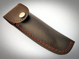 RZ-2082, Custom Handmade Damascus Steel Straight Razor  - Beautiful File Work on Bull Horn Handle