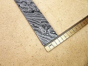 DBS-650, Custom Handmade Damascus Steel Billet Knife / Blank Blade Making Bar