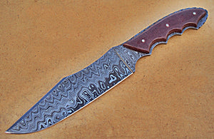 REG-HK-286, Handmade 12.00 Inches Full Tang Damascus Steel Bowie Knife