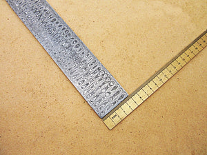 DBS-654, Custom Handmade Damascus Steel Billet Knife / Blank Blade Making Bar