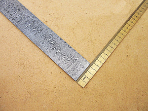 DBS-655, Custom Handmade Damascus Steel Billet Knife / Blank Blade Making Bar