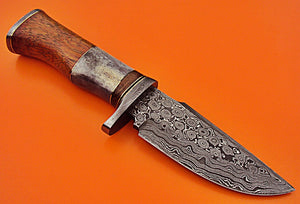 REG-HK-41- Custom Handmade Damascus Steel 10.00 Inches Knife