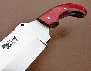 RK-CP-339, Handmade Hi Carbon Steel Chopper Knife – Beautiful Doller Sheet Handle
