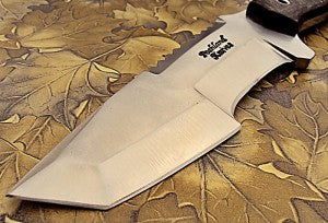 TRD-88 Custom Handmade D2 Tool Steel Tracker Knife- Stunning Jute Micarta Handle