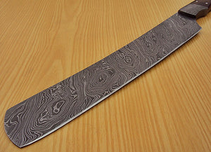 "REG-L-1317- Custom Handmade Damascus Steel 15.4"" Inches Hunting Knife."