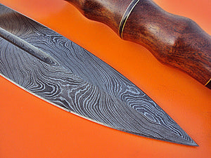 "SW-107- Handmade Damascus Steel 37.00"" Inches Full Tang Sword - Perfect Grip."