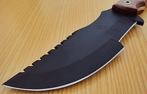 "REG-J-TR-60- Custom Handmade 10.0"" Inches TRACKER Knife."