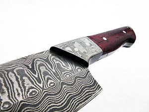 of RK-L -2120- Damascus Steel Chef Knife – Marindi Wood Handle - Best Quality Guaranteed.