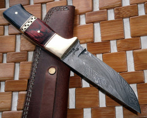 BC-ST-31 Custom Damascus Steel Knives- Ideal for Hunting & Bushcraft