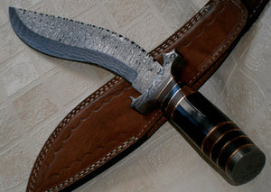 REG-H014 Custom Handmade Damascus Steel 15 Inches Kukri Knife
