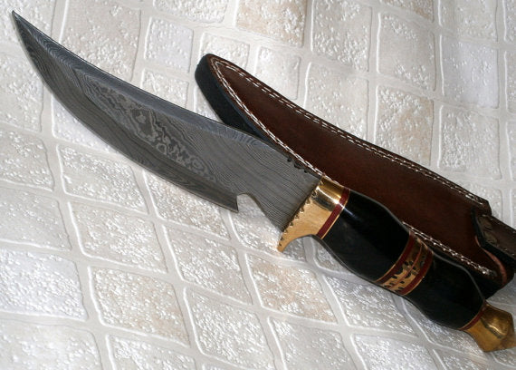 REG-H005 Custom Handmade Damascus Steel 12 Inches Knife - Great Piece of Art