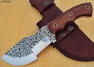 "REG-J-TR-420- Custom Handmade10.0"" Inches TRACKER Knife."