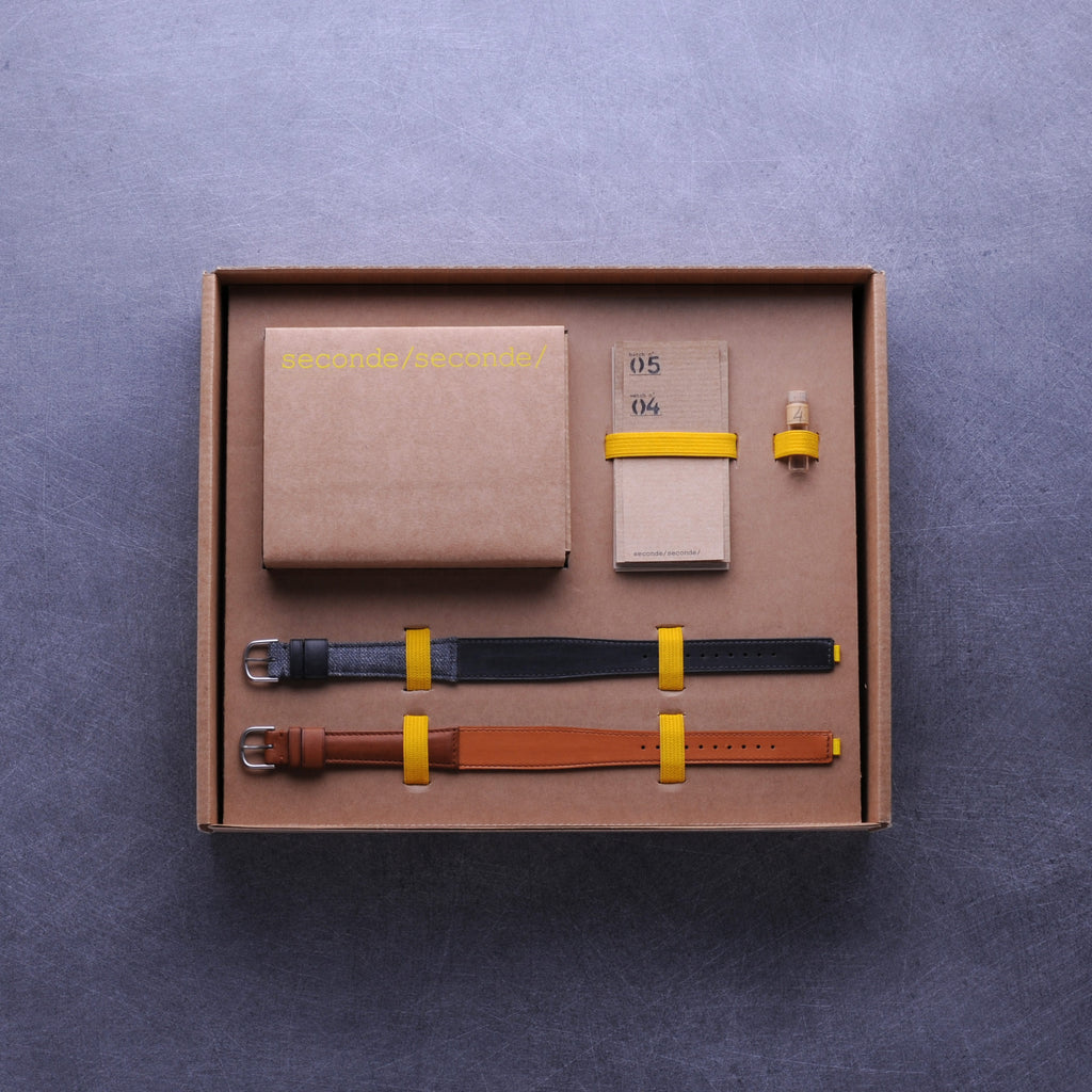 seconde seconde vintage watches home packaging