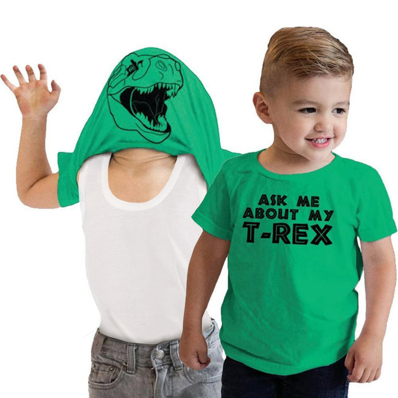 Ask Me About My T Rex T-Shirt