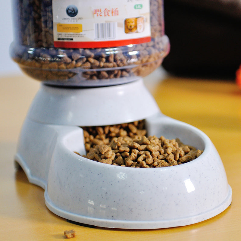 Pet drinkers cat dog 3.5L automatic feeder drinking animal pet bowl water
