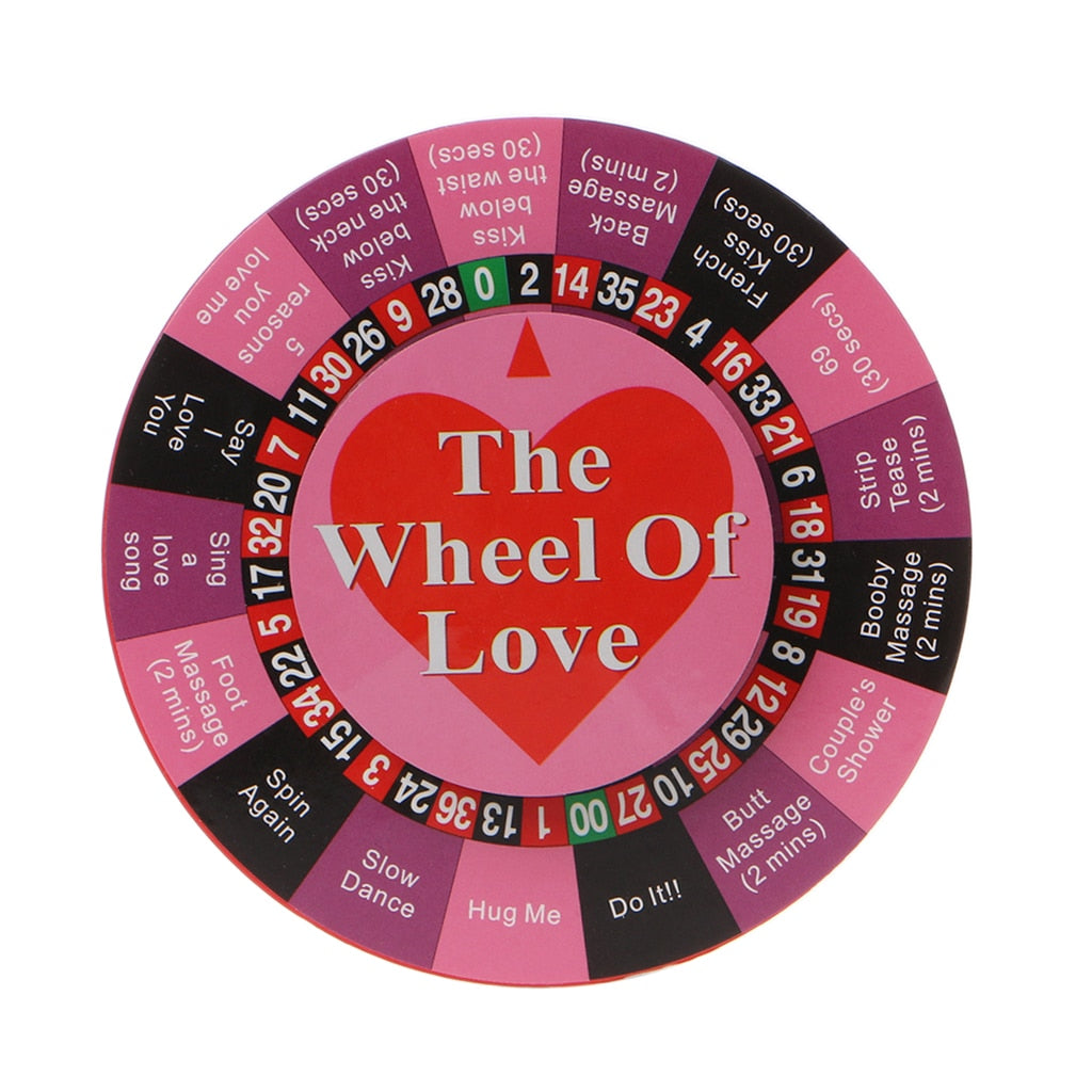 Quarantine game for couples The Wheel of Love