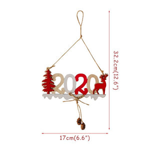 2020 Happy New Year Decoration Photo Booth Frame Props Xmas Party Navidad New Year Eve Party Supplies Photobooth Props