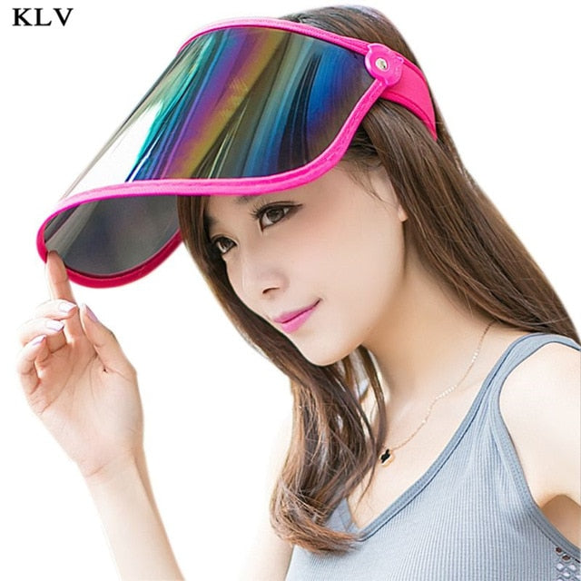 Rainbow Panel UV Protection Adjustable Cap