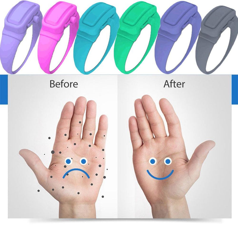Silicone Bracelet for Hand Sanitizer