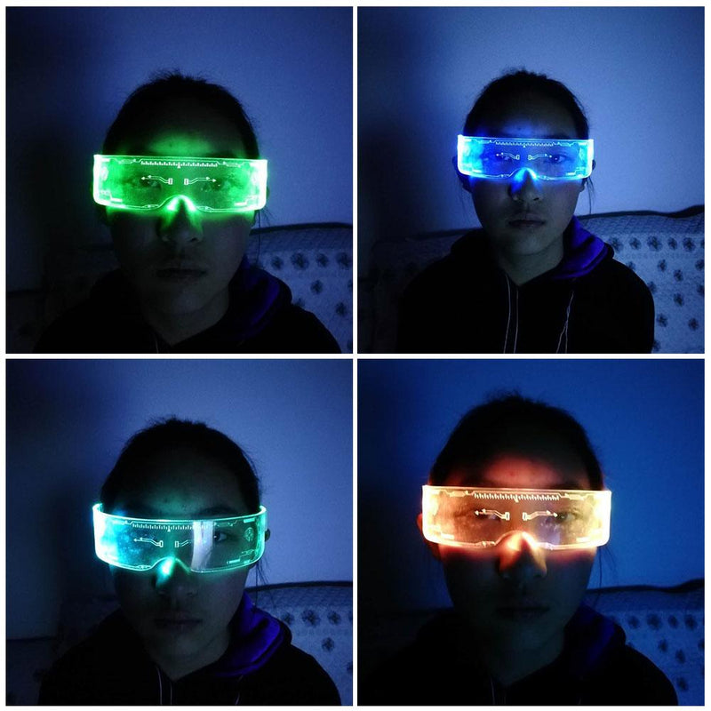 2020 Cool LED Glasses for All Parties