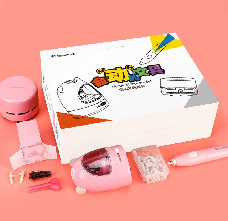 Trend Automatic Pencil and Eraser Set