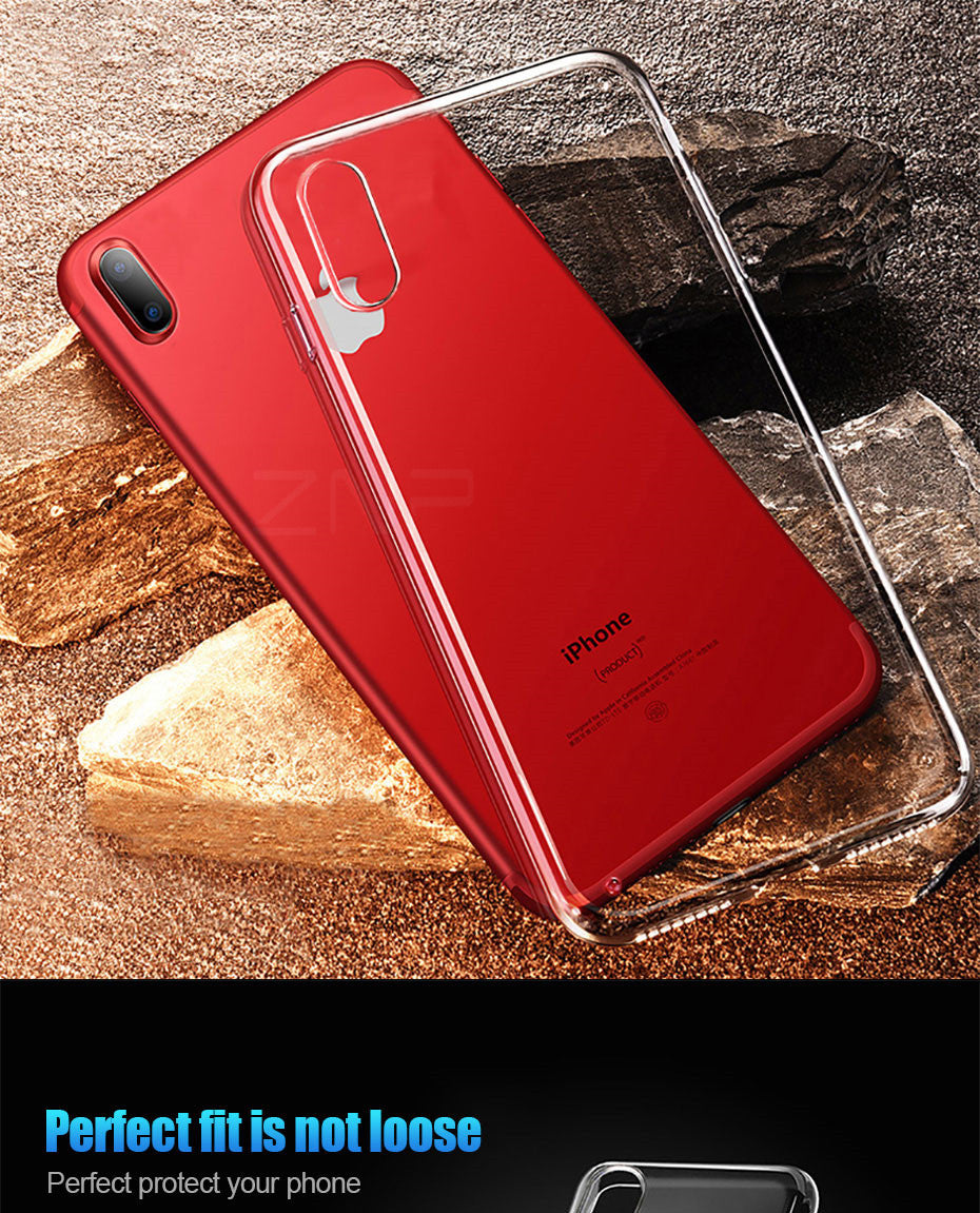 Transparent Case For iPhone X