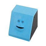 Face Money Eating Box Cute Facebank Piggy Bank Coins Box