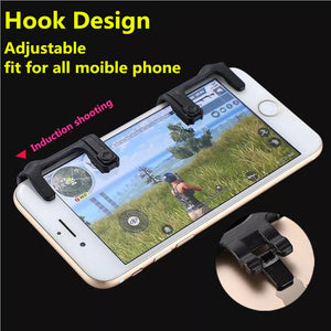 Smart phone Mobile Game Fire Button Aim Key L1R1 Shooter Controller PUBG V2.0