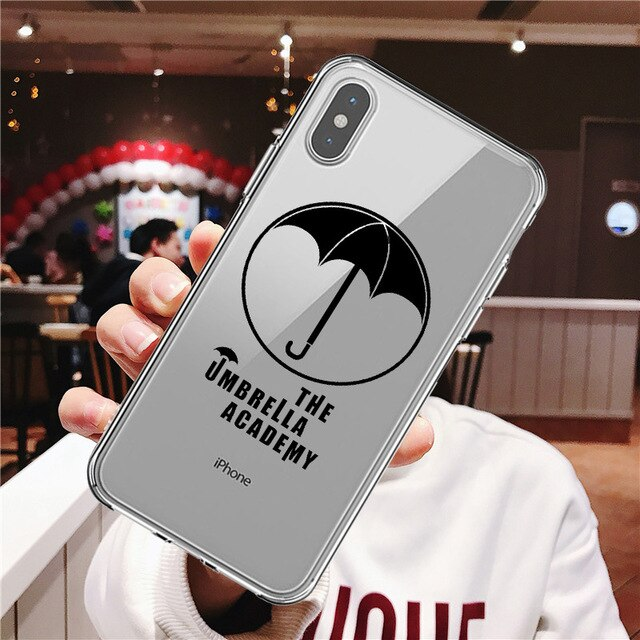 The Umbrella Academy logo fashion Soft Phone Case Fundas for iphone SE 5s 8 7 6s plus X XR XS MAX
