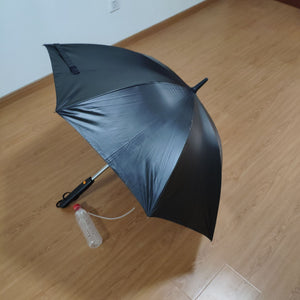 Long-Handle  Umbrella with Fan and Spray