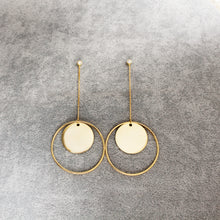 Round Circle Earring Gold