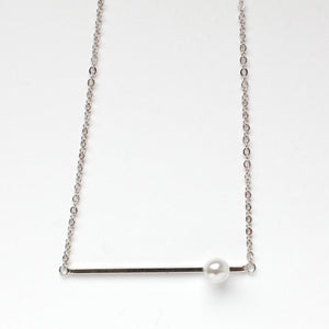 Pearl Silver Necklace
