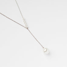Swarovski Pearl Necklace Silver
