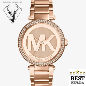 Replica-MICHAEL-KORS-Parker-Pavé-Rose-Gold-Tone-Watch-Motivations-For-Luxury-Life
