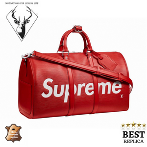 Replica-leather-Louis-Vuitton-Duffle-SUPREME-Motivations-For-Luxury-Life