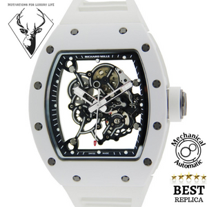 replica-Richard-Mille-Bubba-Watson-White-motivations-for-luxury-life