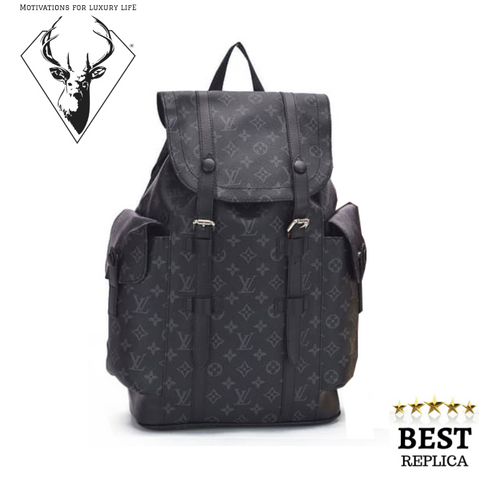 REPLİCA-Louis-Vuitton-CHRISTOPHER-BACKPACK-BLACK-MONOGRAM-motivations-for-luxury-life